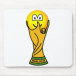 World cup emoticon   mousepad