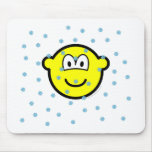 In the snow buddy icon   mousepad