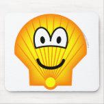 Shell emoticon   mousepad