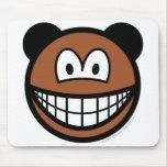 Bear smile   mousepad