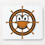Ships wheel buddy icon   mousepad