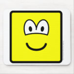 Square buddy icon   mousepad