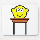 School desk buddy icon   mousepad