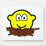 Birds nest buddy icon   mousepad