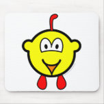 Chicken buddy icon   mousepad