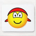 Bandana emoticon   mousepad