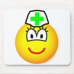 Pharmacist emoticon   mousepad