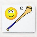 Hurling emoticon   mousepad