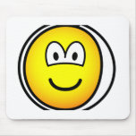 Sore tooth emoticon Bandaged  mousepad