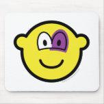 Black eyed buddy icon   mousepad