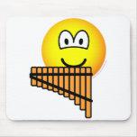 Panflute emoticon   mousepad