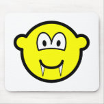 Vampire buddy icon (before lunch)  mousepad
