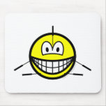 Acupuncture smile   mousepad