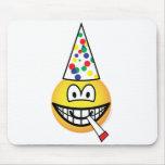 Party emoticon   mousepad