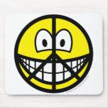 Peace smile   mousepad