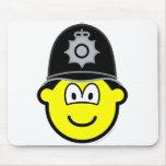 English bobby buddy icon   mousepad
