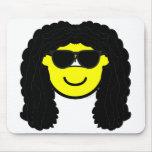 Rocker buddy icon   mousepad