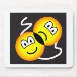 Broadway emoticon   mousepad