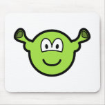 Shrek buddy icon   mousepad