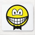 Bow tie smile   mousepad