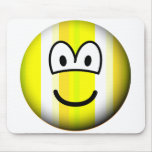 Stripey emoticon   mousepad