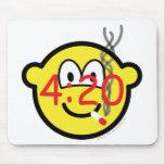 Stoner 4:20 buddy icon   mousepad