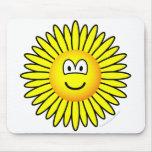 Sunflower emoticon   mousepad