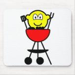 BBQ buddy icon   mousepad
