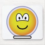 Space emoticon   mousepad