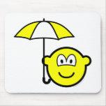 Umbrella buddy icon   mousepad