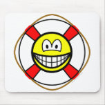 Lifesaver smile   mousepad