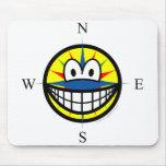 Compass smile   mousepad