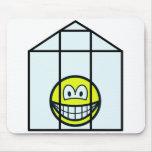 Greenhouse smile   mousepad