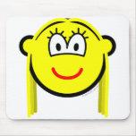Transvestite buddy icon   mousepad