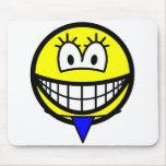 Thong smile   mousepad
