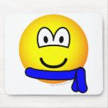 Blue belt emoticon   mousepad