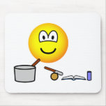 Cooking emoticon   mousepad