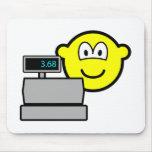 Cash register buddy icon   mousepad