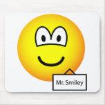 Name tag emoticon   mousepad