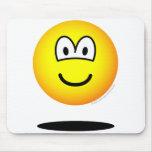 Levitating emoticon   mousepad