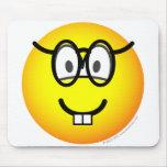 Nerd emoticon   mousepad