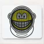 Fencing smile   mousepad