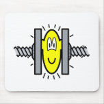 Stressed buddy icon Under pressure  mousepad
