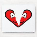 Broken heart buddy icon   mousepad