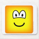 Square emoticon   mousepad