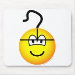 PC mouse emoticon   mousepad