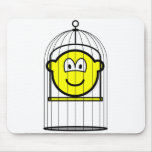 Caged buddy icon   mousepad