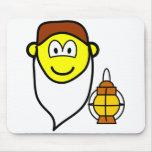 Sneezy buddy icon Seven Dwarves  mousepad