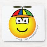 Baby boy emoticon   mousepad