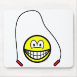 Skipping smile   mousepad